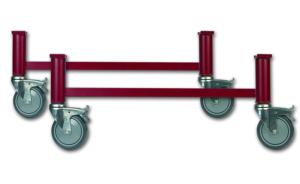 Camas articuladas eléctricas - Patas con ruedas