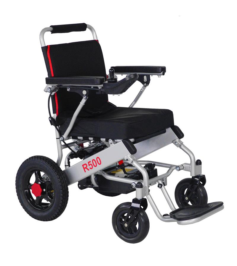 Cadira de rodes elèctrica lleugera R500 - Ajudes tècniques