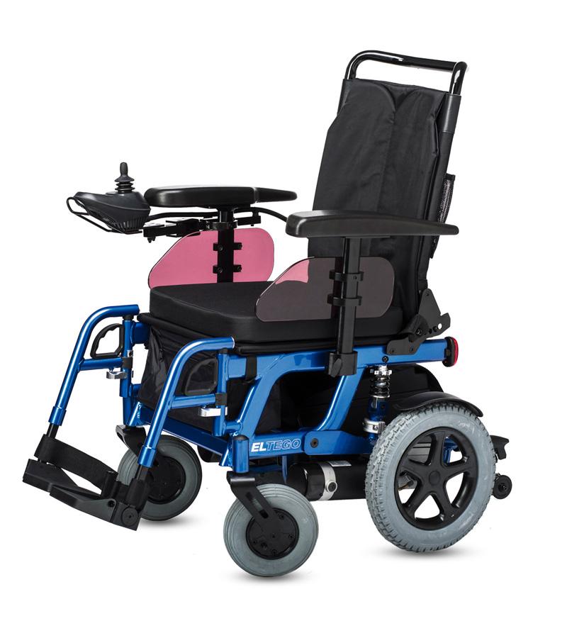 Cadira de rodes elèctrica ELTEGO - Ajudes tècniques