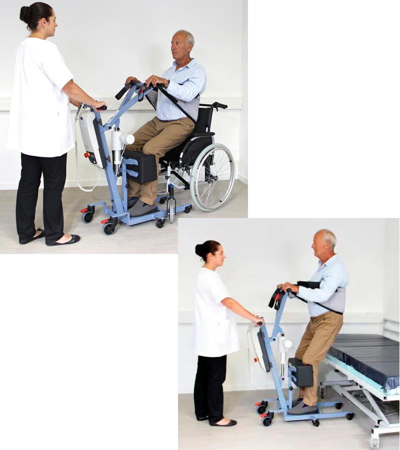 Grua hospitalaria WAY UP - Ajudes tècniques